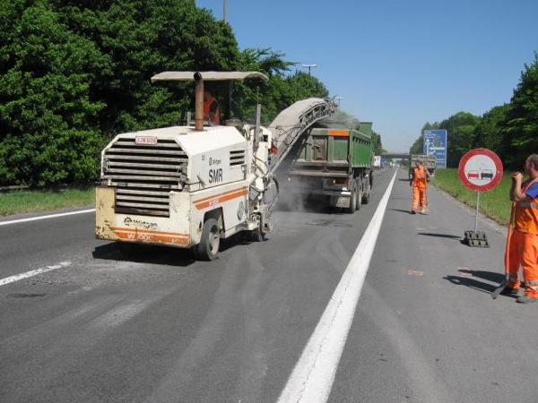 Autoroute E19 à Hensies
