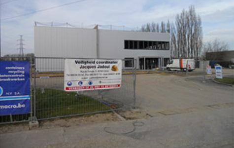 Garage Scania à Huizingen